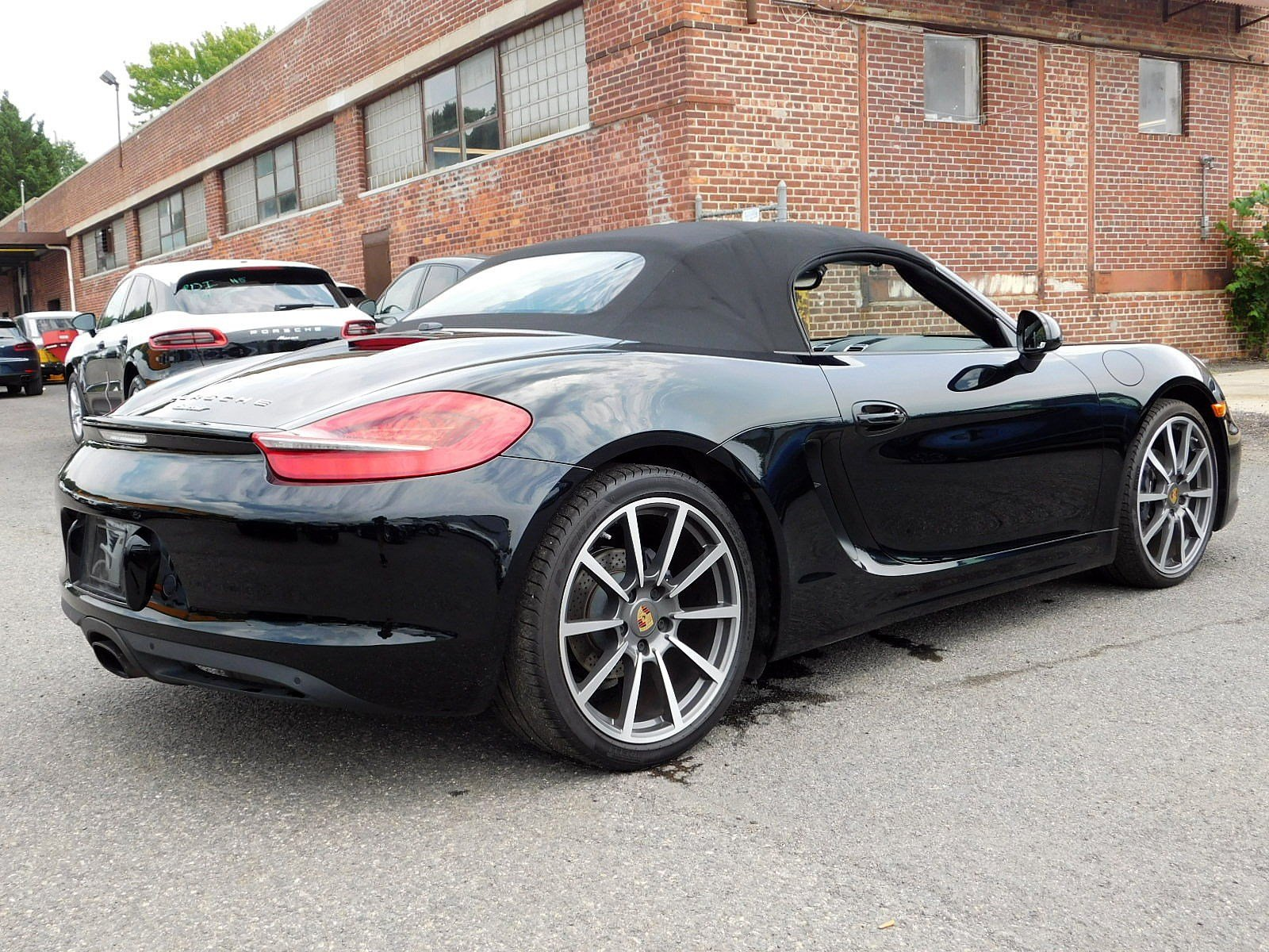 Certified Pre-Owned 2016 Porsche Boxster Black Edition