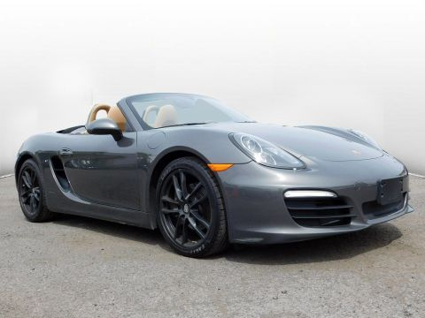 Certified Pre-Owned 2015 Porsche Boxster
