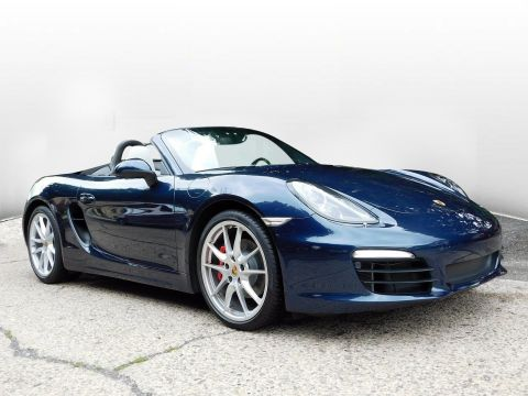 Certified Pre-Owned 2015 Porsche Boxster S